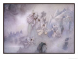 The Ice Fairies Arrive at Mother Careys Pool Giclee Print by Warwick Goble