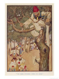 Ali Baba Counted Forty of Them from His Vantage Point up a Tree Giclee Print by Monro S. Orr