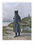 Napoleon I French Emperor Exiled to Saint Helena Giclee Print by L. Kratke