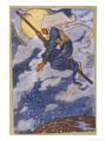 Wood Witch Giclee Print by Florence Harrison
