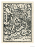 God Creates Eve Giclee Print by Hans Holbein the Younger