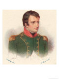 Napoleon as General-In-Chief in Italy Circa 1796 Giclee Print by Jean-Baptiste Isabey