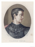 Gaius Caesar Caligula Roman Emperor Great-Nephew of Tiberius Assassinated Giclee Print by J. Pass