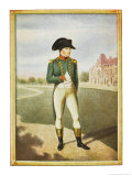 Napoleon I as General Circa 1796 Giclee Print by Jean-Baptiste Isabey