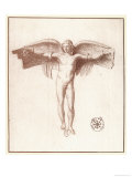 Icarus with a Quite Inadequate Pair of Wings Giclee Print by Peiresc