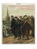 German Prisoners Return Home Giclee Print by Wilhelm Schulz