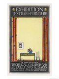 Furniture Exhibition Giclee Print by Edgar Rustworth