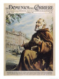 "Francesco Forgione Name in Religion Pio de Pietrelcina Known as ""Padre Pio"" Capucin Friar Giclée-Druck von Walter Molini"