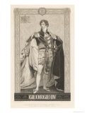 King George IV of England Full Length Picture Giclee Print by Krausse