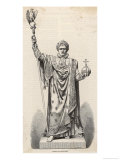 Napoleon I as Emperor 1804 Giclee Print by  Gusman