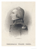 Theobald Wolfe Tone Irish Patriot Giclee Print by F. Scriven