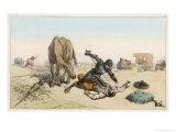 Quixote's Rescue Giclee Print by Edmond Morin