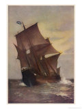 The Mayflower Giclee Print by Marshall Johnson