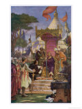 King John Pressured by the Barons and Threatened with Insurrection Giclee Print by Ernest Normand