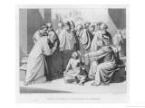 The Boy Jesus Discusses Theology with the Doctors in the Temple of Jerusalem Giclee Print by Friedrich Overbeck
