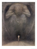 Yea Though I Walk Through the Valley of the Shadow of Death I Will Fear No Evil Giclee Print by Frank C. Pape