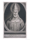 Pope Damasus I Pope and Saint Giclee Print by I.s. Negges