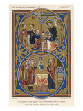 Jesus Receives the Gifts of the Magi Giclee Print by Ronjat
