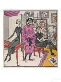 Three Emancipated Women of Post-WWI Germany Giclee Print by F. Schilling