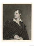 George Gordon Lord Byron English Poet in 1814 Giclee Print by  Moto