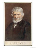 Thomas Carlyle Scottish Philosopher and Historian Giclee Print by C.w. Quinnell