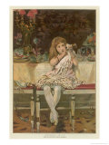"""Nothing in It!"" the Shattering of a Young Girl's Illusions Giclee Print by Weedon Grossmith"