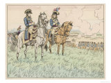 At the Battle of Marengo Desaix Thinks It's Too Late for Victory Giclee Print by  Job