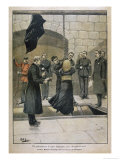 She is Hanged at Newgate for Killing Her Five-Year Old Son Premium Giclee Print by P.h. Ripp