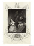 Lady Jane Grey Queen for Nine Days is Beheaded at the Tower of London on Charges of Treason Giclee Print by J. Rogers