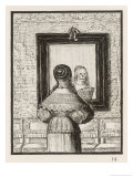 She Looks into Her Mirror Giclee Print by Charles Kirkpatrick