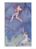 Cupid on the Cypress Tree Giclee Print by Dorothy Mullock