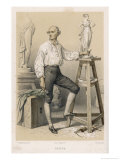 Antonio Canova Italian Sculptor Giclee Print by F. Philippoteaux