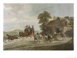Running Away to Gretna Green for a Border Wedding Giclee Print by R. Reeves