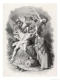 Jesus Expels Several Demons from a Possessed Man Giclee Print by Stephen Sly