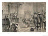 Rosenkrantz Condemned Giclee Print by W.n. Marstrand