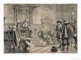 Rosenkrantz Condemned Giclee Print by W.n. Marstrand