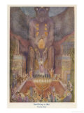 Victims are Sacrificed to Propitiate Baal the Supreme Deity of the Babylonians Premium Giclee Print by Evelyn Paul