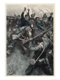 The First Battle of Bull Run, The Charge Giclee Print by Howard Pyle