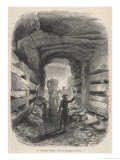 Catacombs Romec Giclee Print by Rouargue