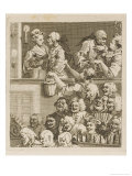 The Laughing Audience Giclee Print by William Hogarth