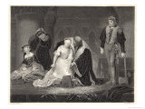Lady Jane Grey Queen for Nine Days is Beheaded at the Tower of London on Charges of Treason Giclee Print by Harry Payne