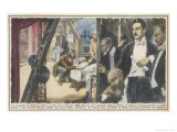 La Boheme First Performance Giclee Print by Walter Molini