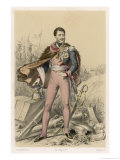 Jozef Antoni Poniatowski Polish-Born French Soldier Marshal and Statesman Giclee Print by F. Philippoteaux