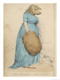 Miss Atkinson: The Pig-Faced Lady Giclee Print by George Morland