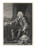 Thomas Coram Philanthropist and Founder of the Foundling Hospital Giclee Print by William Holl the Younger