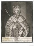 King of the West Saxons King Alfred Reigned 871-899 Giclee Print by H. Parker