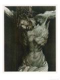 The Dying Jesus Giclée-tryk af Matthias Grünewald