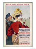 Paris-Londres Giclee Print by René Péan