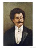 Johann Strauss (Younger) Austrian Musician Giclee Print by Rudolf Klingsbogl