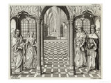 The Marriage of Henry VII to Elizabeth of York Giclee Print by G. Grignion